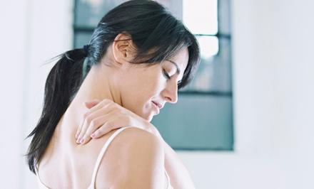 Chiropractic Package with a 30- or 60-Minute Massage at HealthSource Huntsville and Harvest (Up to 90% Off)