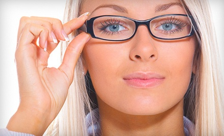 Eye Exam with Option of $110 Toward Glasses, Contact-Lens Package, or Both at ClearVision Eye Care (Up to 82% Off)