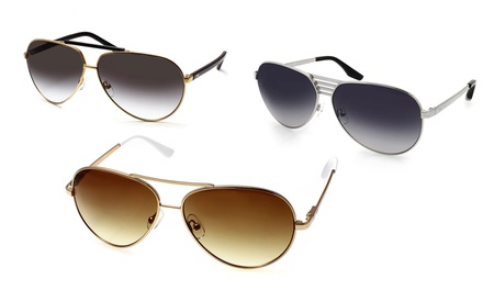 AQS Aviator Collection Unisex Sunglasses