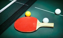 $24 for a One-Hour Private Table-Tennis Lesson at 123 Ping Pong ($60 Value)