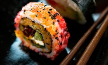 Asian Food and Sushi at Samurai Sushi (Up to 57% Off). Three Options Available.