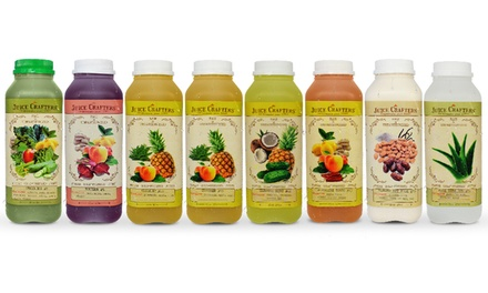$126 for One Three-Day Cleanse from Juice Crafters ($149.85 Value)