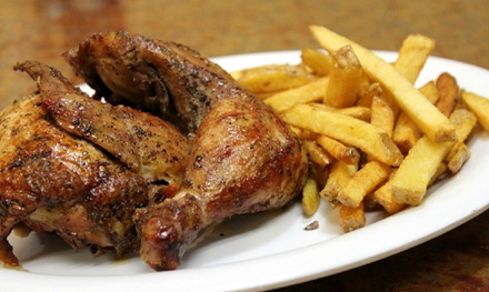 Peruvian Rotisserie Chicken at La Polleria (40% Off)