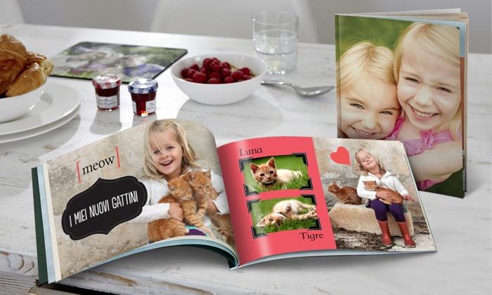 Snapfish: Fotolibro Snapfish 26 pagine 20 x 30 cm con stampe di alta qualità a 8,99 € invece di 22,95