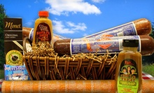 $15 for $30 Worth of Gourmet Meats, Wisconsin Cheeses, and Specialty Sauces at Deli Direct 