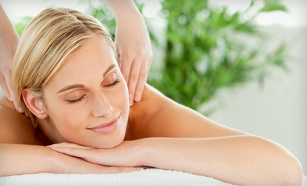 Swedish or Hot-Stone Massage or Swedish Massage with Classic Facial at a. Salon Galleria & Spa (Up to 58% Off)