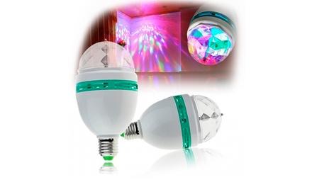 Uma lâmpada LED RGB multicolor por 14,50€, duas por 24,99€ ou quatro por 44,99€
