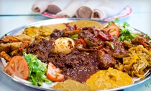 Ethiopian Cuisine at Habesha Restaurant (Half Off). Two Options Available.