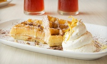 $19 for Brunch for Two with Milkshakes, Iced Tea, or Fresh-Squeezed Orange Juice at Waffles (Up to $36.90 Value)