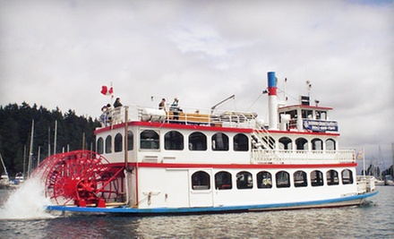 Vancouver Harbour Tour for Two or Four Adults from Harbour Cruises & Events (Up to 54% Off)