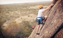 101: Basic Climbing Skills Outdoor Rock-Climbing Course from Rock About (51% Off). Seven Options Available.