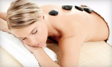 One or Three Swedish, Deep-Tissue, or Hot-Stone Massages at Healing Elements (Up to 56% Off)