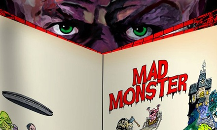 One-Day Admission for 1, 2, or 4, or a 3-Day Pass for 2 at Mad Monster Party, October 3, 4, and 5 (Up to 55% Off)