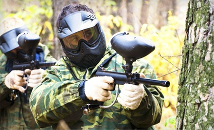 Paintball Package for Two or Four at Husker Paintball Adventures (Up to 55% Off)