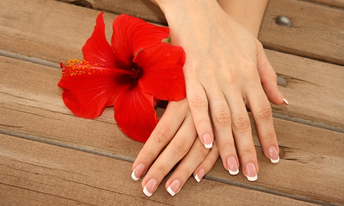 Delectable Beauty Spa - Johannesburg: Manicure and Pedicure with Gel Overlays from R112 at Delectable Beauty Spa (Up to 65% Off)