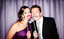 Three- or Four-Hour Photo-Booth Rental from Flash Photo Booth (Up to 60% Off)