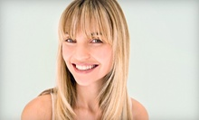 Haircut and Style with Option of Highlights from Louis Morgan at Salon Ventures (Up to 53% Off)