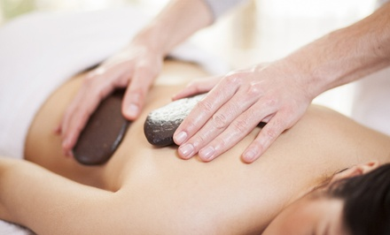 60- or 90-Minute  Hot Stone or Thai Herbal Massage at Lion & Dragon Yoga Bodyworks (51% Off)