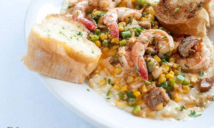 Cajun Lunch or Dinner for Two on Weekdays or Weekends at On the Bayou (Up to 51% Off)