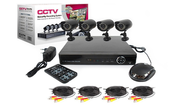 Groupon Goods: Four or Eight-Channel CCTV Kit from R1 999 including Delivery (Up to 46% off)
