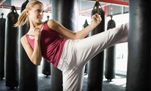 $39.99 for Five Cardio-Kickboxing or Fitness Classes at Evolution Martial Arts ($160 Value)