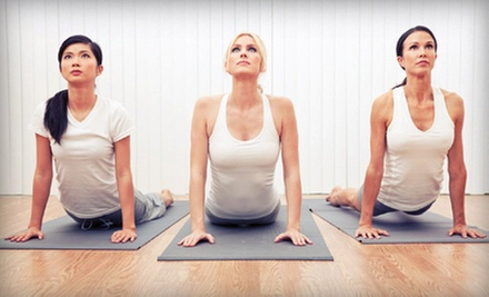 One or Two Months of Unlimited Yoga Classes at Trinity Yoga Studio (Up to 80% Off)
