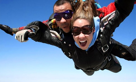 $199 for a Tandem Skydive Jump with Souvenir T-Shirt, Photos, and Video from Skydive Taft ($300 Value)