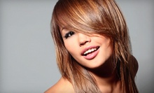 Haircuts and Coloring Services at Q Salon & Spa (Up to 52% Off). Five Options Available.