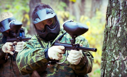All-Day Paintball, Equipment, and 300 Rounds for One, Two, or Four at Fox Brother&#x27;s Paintball Park (Up to 57% Off)