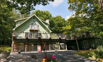 2-Night Stay for Two at Always Inn Brown County Bed & Breakfast in Nashville, IN