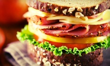 One Dozen Bagels with Cream Cheese or $10 for $20 Worth of Bagels, Sandwiches, and Salads at Fulton Bagels