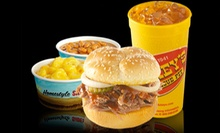 Barbecue Food at Dickey's Barbecue Pit (Half Off). Two Options Available.