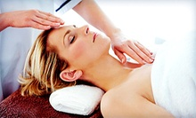 One or Two 60-Minute Craniosacral Massages with Reiki and an Essential Oil Treatment at Light Rays (51% Off)