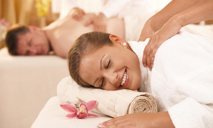 Nymphaea - NYMPHAEA: Percorso benessere per 2 persone e a scelta massaggio da 29 € invece di 114