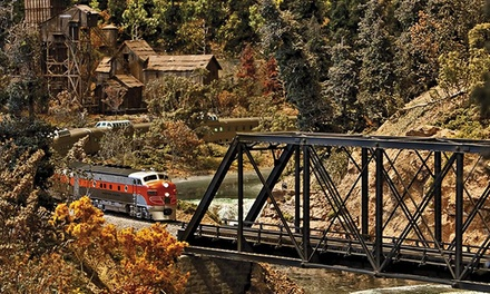 Admission for 2 or  a Family of 4 to Colorado Model Railroad Museum at Greeley Freight Station (Up to 50% Off)