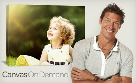 "One or Two 16""x20"" Customized Gallery-Wrapped Canvases with Shipping & Handling from Canvas on Demand (Up to 68% Off)"
