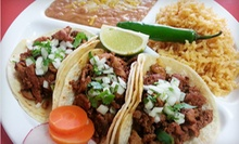 Mexican Food for Two or Four at Royal Taco (Half Off)