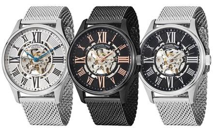 Stuhrling Original Atrium Elite Collection Men's Automatic Watch