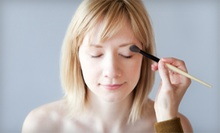 Cosmetics or Full Makeover Including Application and Lesson at Let's Make Up (Half Off). Three Options Available.