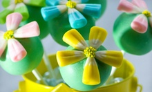 One or Two Dozen Flower Cakepops at Cakepops For You (52% Off)