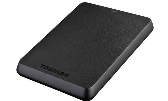 Disco externo Toshiba STOR.E Basics de 1 TB por 59,99€