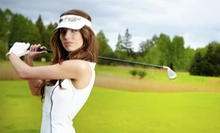 18 Holes of Golf for 1 or 2 or 36 Holes for 1 with Cart Rental and Range Balls at Goose Pond Colony (Up to 52% Off)