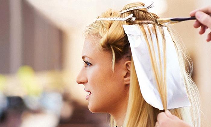 Hairtech Salon - Ontdekkers Park Centre: Wash, Cut, Blow-dry, Treatment and Foils at Hairtech Salon