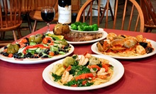 Italian Dinner for Two or Four on Sunday–Thursday or Friday–Saturday at Valente's Restaurant (Half Off)