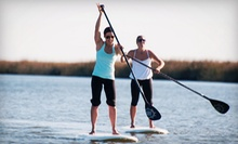 Paddleboard Activities or Class from AOK Watersports in Tybee Island (Half Off). Three Options Available.