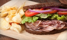 $10 for $20 Worth of Homemade Sandwiches, Sweets, and Tea at The Tomato Cafe &amp; Tea Room