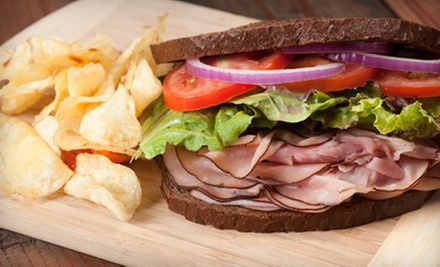 $10 for $20 Worth of Homemade Sandwiches, Sweets, and Tea at The Tomato Cafe & Tea Room
