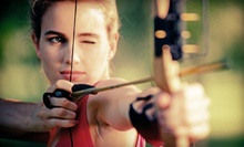 One-Hour Archery Lane Rental or Two-Hour Lesson with Lane Rental at Tallahassee Indoor Shooting Range (Half Off)