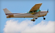 Discovery Flight Lesson or Romantic Scenic Tour for Two from Top-Notch Aviation in Washington (Half Off)