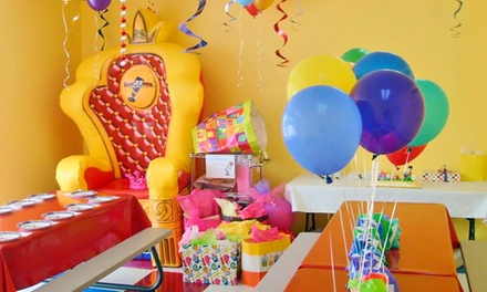 Four Battle Zone Passes, Three Open-Play Passes, or Birthday Party for 10 Kids at Jump!Zone (Up to 50% Off)